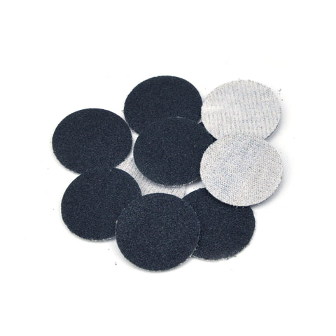 "1"" 100 Grit Silicon Carbide Wet/Dry Hook & Loop Sanding Discs, 10 Discs"