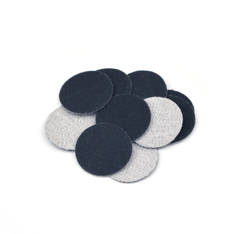 "1"" 240 Grit Silicon Carbide Wet/Dry Hook & Loop Sanding Discs, 10 Discs"