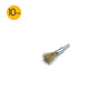 10mm x 6mm Shank Mounted Copper Plated Stainless Steel Wire End Brushes