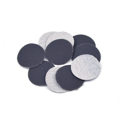 "1"" 800 Grit Silicon Carbide Wet/Dry Hook & Loop Sanding Discs, 10 Discs"