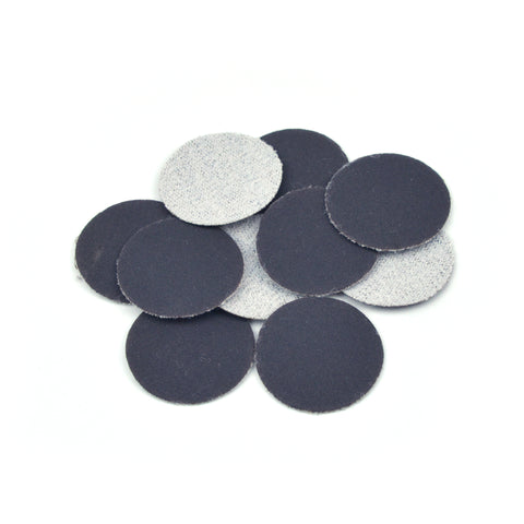 "1"" 600 Grit Silicon Carbide Wet/Dry Hook & Loop Sanding Discs, 10 Discs"