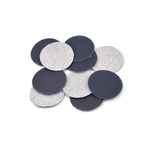 "1"" 1000 Grit Silicon Carbide Wet/Dry Hook & Loop Sanding Discs, 10 Discs"