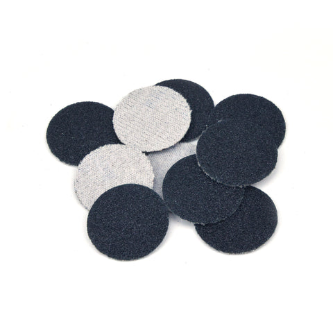 "1"" 80 Grit Silicon Carbide Wet/Dry Hook & Loop Sanding Discs, 10 Discs"