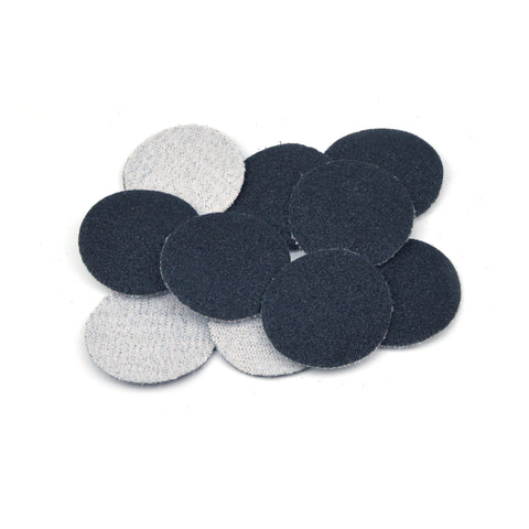 "1"" 120 Grit Silicon Carbide Wet/Dry Hook & Loop Sanding Discs, 10 Discs"