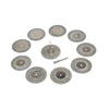 45mm Mini Carborundum Cutting Discs 3mm Shank Cutting Wheels, 12pcs Set