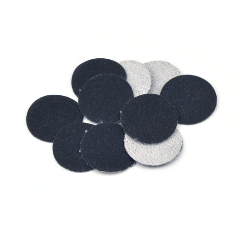 "1"" 180 Grit Silicon Carbide Wet/Dry Hook & Loop Sanding Discs, 10 Discs"