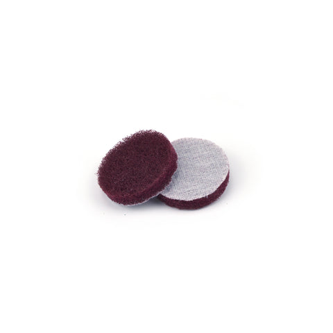 "2"" Medium(400 Grit) Round Heavy Duty Hook and Loop Scouring Pads"