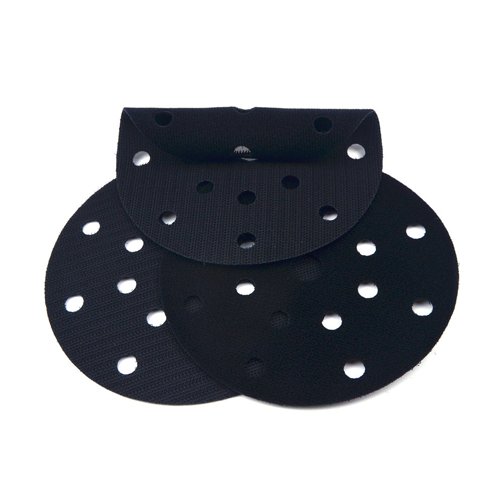 "6"" (150mm) 17-Hole Ultra-thin Surface Protection Interface Buffer Backing Pads"