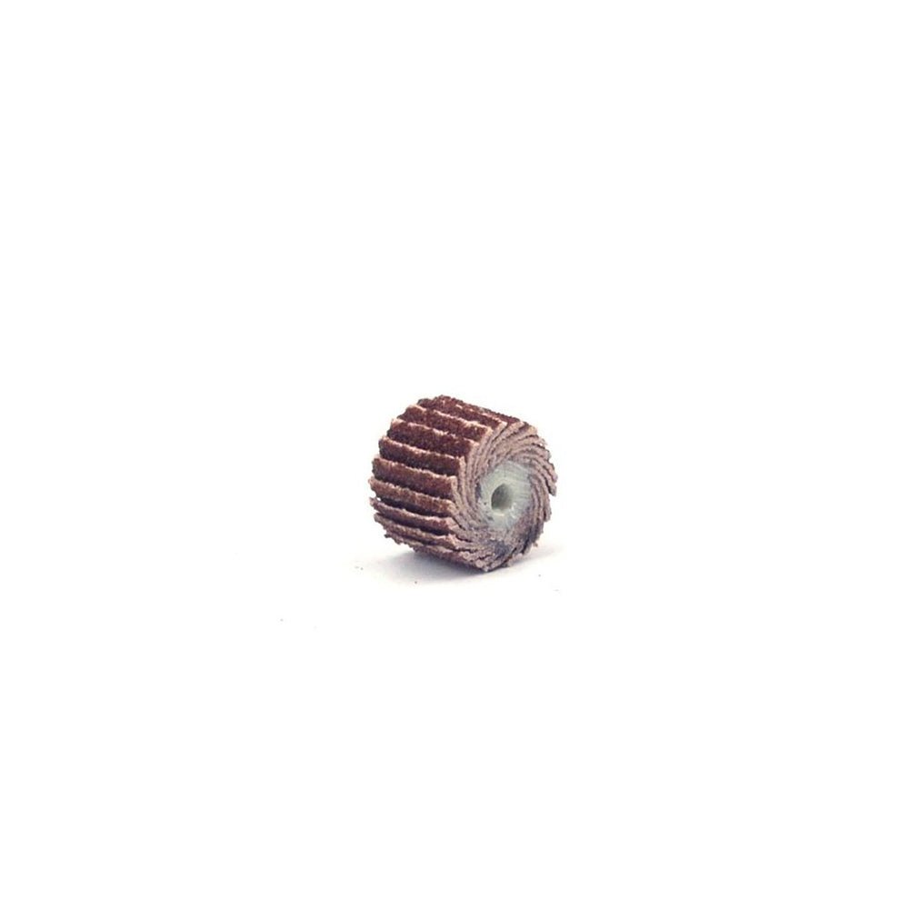 12x11mm x 3mm Shank Small Flap Wheels, 80-600 Grit