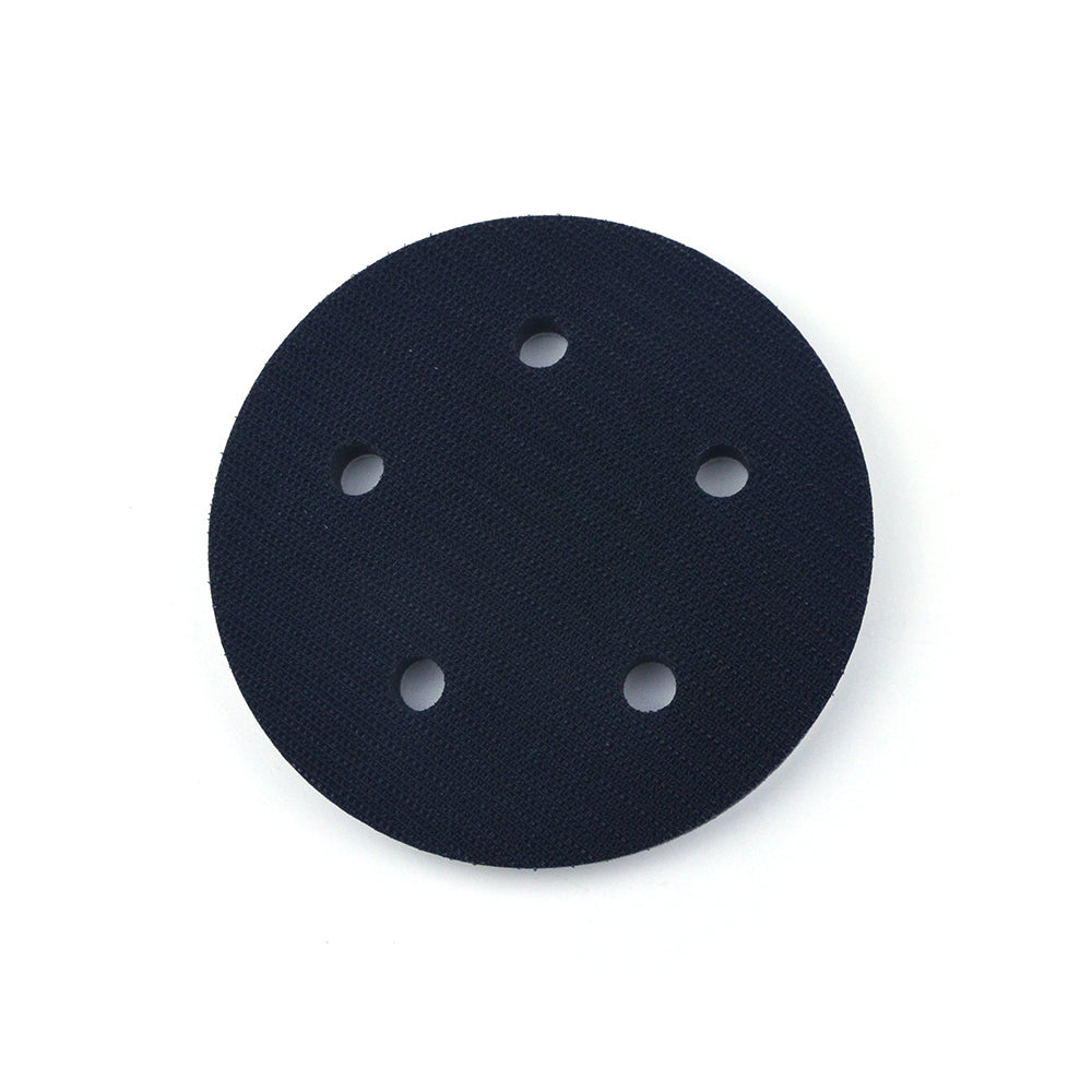 "5"" (125mm) 5-Hole Soft Sponge Dust-free Interface Buffer Backing Pads"