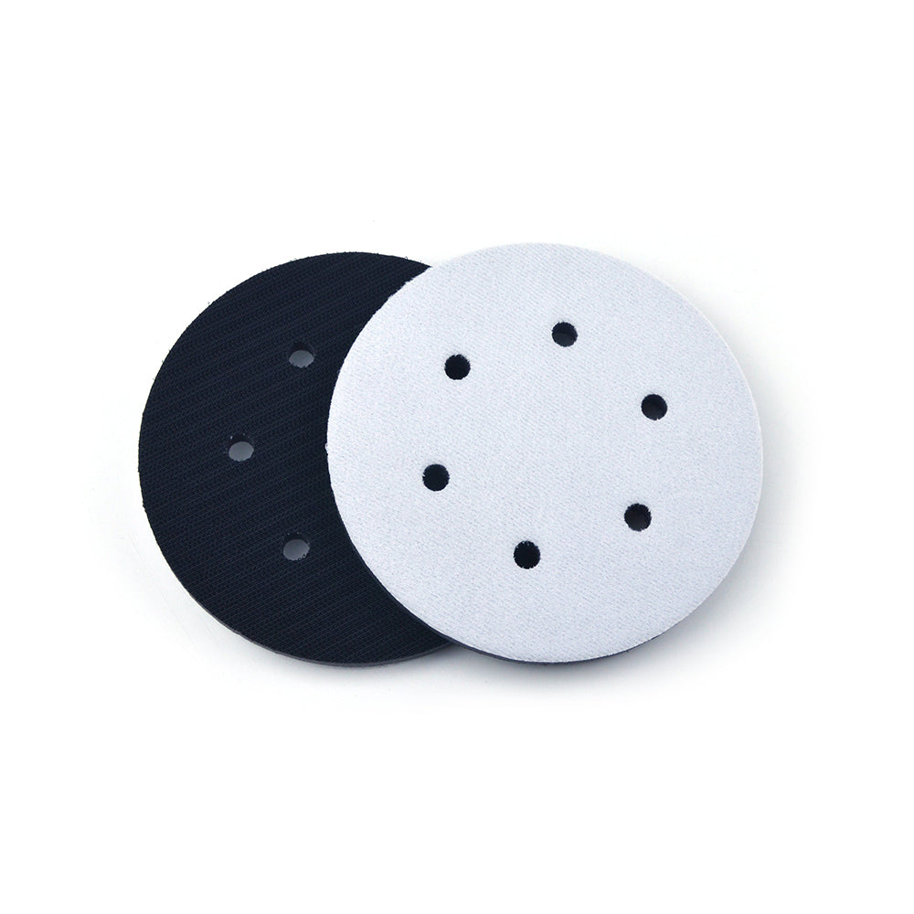 "6"" (150mm) 6-Hole Soft Sponge Dust-free Interface Buffer Backing Pads"