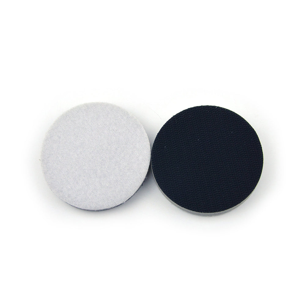 "3"" (75mm) High Density Hard Hook & Loop Surface Protection Interface Buffer Backing Pad"
