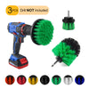 Electric Drill Cleaning Brush For Household/Automotive with 6mm Shank Drill Attachment. 3 Pcs Set