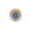 80 Grit 6mm Shank Mounted Nylon Wire Grinding Flower Head Wheel Brush for Woodworking