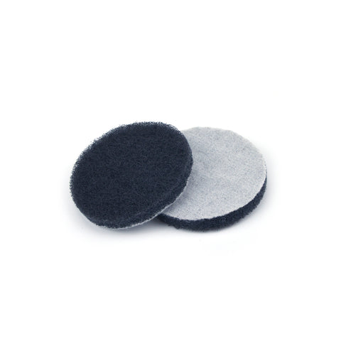 "3"" Fine(1000 Grit) Round Heavy Duty Hook and Loop Scouring Pads"