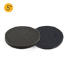 "5"" (125mm) Soft Sponge Backed Hook & Loop Surface Protection Interface Buffer Backing Pad"