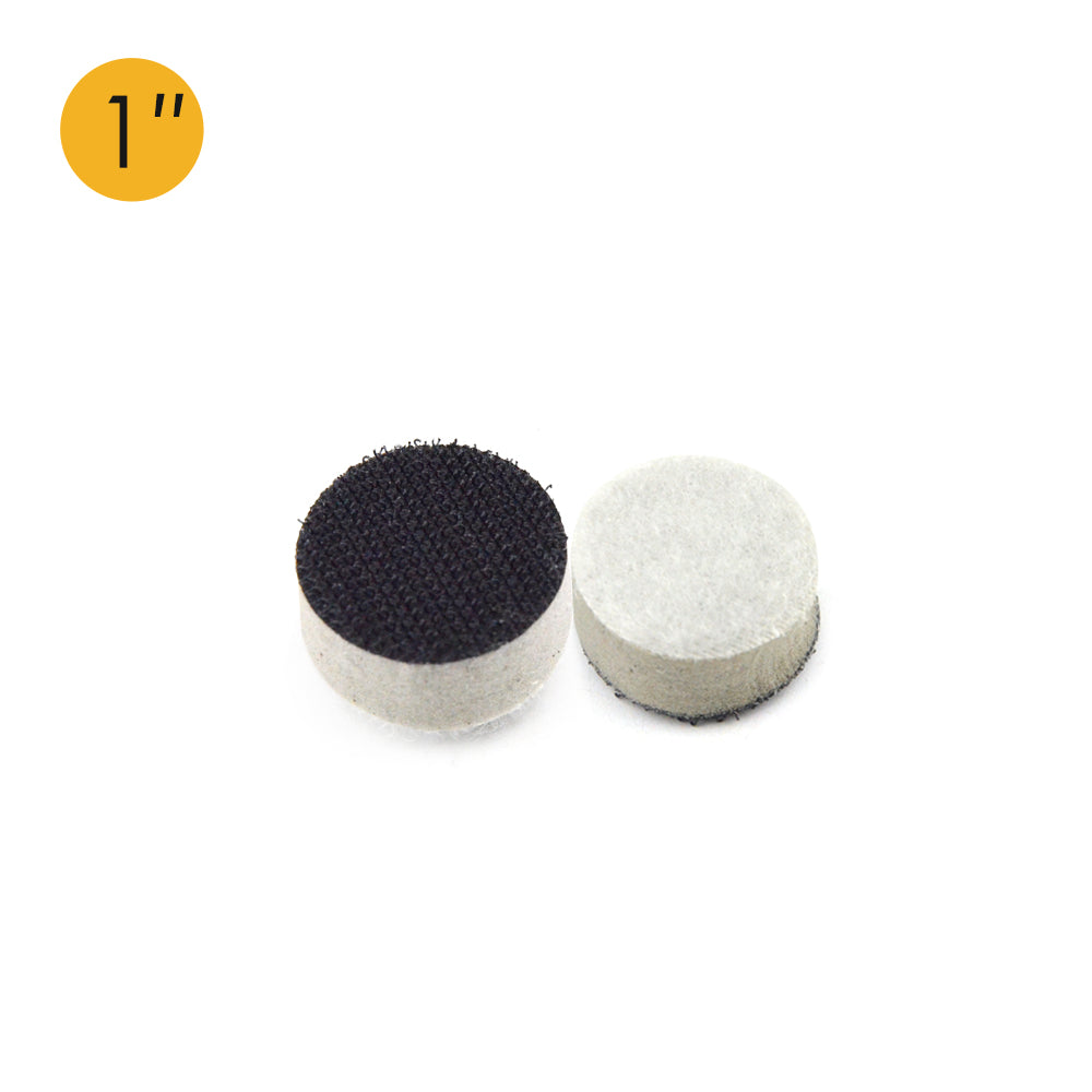 "1"" (25mm) High Density Hard Hook & Loop Surface Protection Interface Buffer Backing Pad"