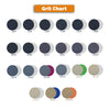 "6"" 3000 Grit Silicon Carbide Wet/Dry Hook & Loop Sanding Discs, 10 Discs"