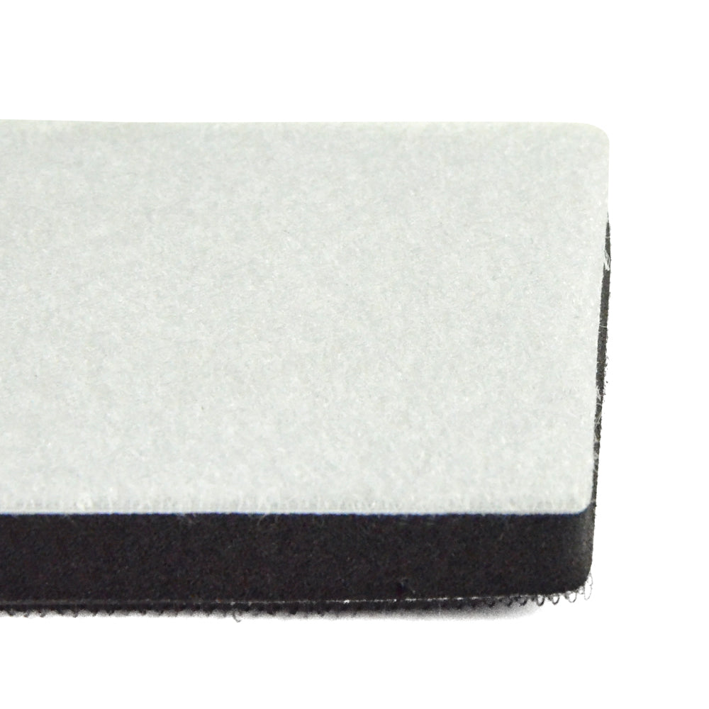 75x100mm Soft Sponge Hook & Loop Surface Protection Interface Buffer Backing Pad