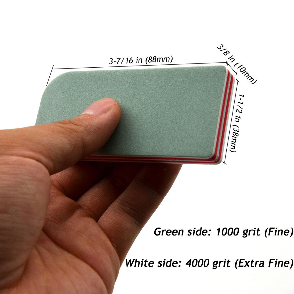 2 Sides-2 Classes High-precision Manual Sanding Block, Fine-Extra Fine