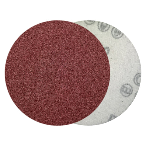 "4"" 100 Grit Red Grain Hook & Loop Sanding Discs, 10 Discs"