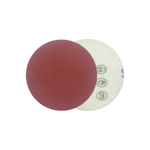 "2"" 1000 Grit Red Grain Hook & Loop Sanding Discs, 10 Discs"