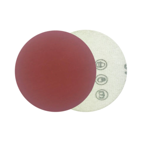 "3"" 1000 Grit Red Grain Hook & Loop Sanding Discs, 10 Discs"