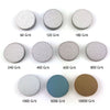 "2"" (50mm) Assorted Grits Sanding Discs with 6mm Shank Backing Pad + Foam Buffer Pad, 100 Discs"