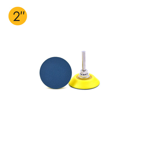 "2"" (50mm) x 6mm Shank PSA Back-up Sanding Pads"