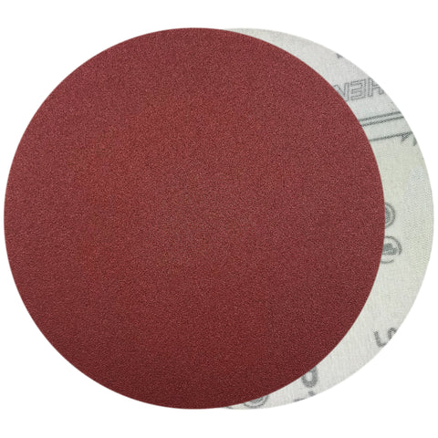 "6"" 120 Grit Red Grain Hook & Loop Sanding Discs, 10 Discs"