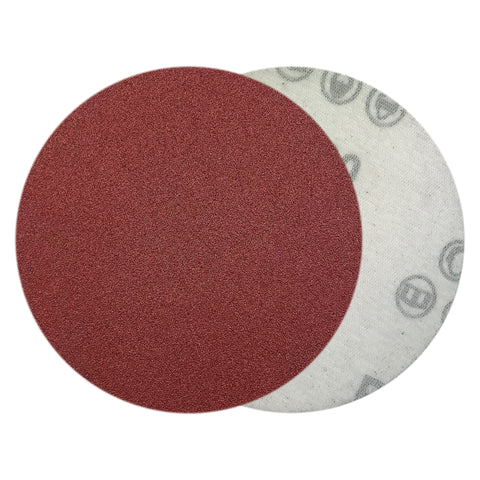 "4"" 120 Grit Red Grain Hook & Loop Sanding Discs, 10 Discs"