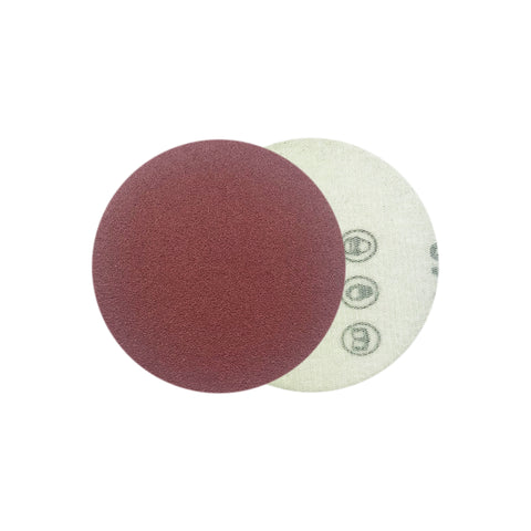 "2"" 120 Grit Red Grain Hook & Loop Sanding Discs, 10 Discs"