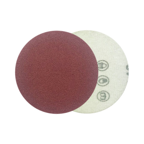"3"" 120 Grit Red Grain Hook & Loop Sanding Discs, 10 Discs"