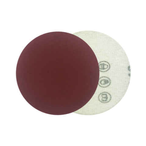"3"" 1200 Grit Red Grain Hook & Loop Sanding Discs, 10 Discs"