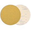 "6"" (150mm) 120 Grit Yellow Hook&Loop Sanding Discs for Dry Sanding, 10 Discs"