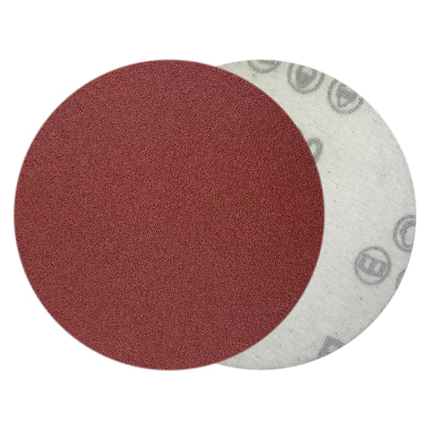 "4"" 150 Grit Red Grain Hook & Loop Sanding Discs, 10 Discs"