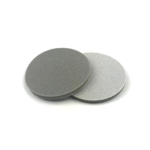 "3"" 150 Grit Heavy-duty Sponge-Backed Hook & Loop Sanding Discs"