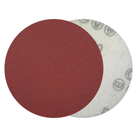 "4"" 1500 Grit Red Grain Hook & Loop Sanding Discs, 10 Discs"