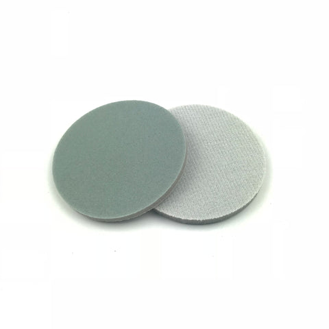 "3"" 1500 Grit Heavy-duty Sponge-Backed Hook & Loop Sanding Discs"