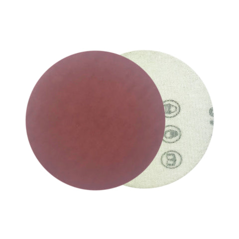 "3"" 1500 Grit Red Grain Hook & Loop Sanding Discs, 10 Discs"