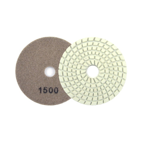 "3"" 1500 Grit Diamond Wet/Dry Hook & Loop Polishing Discs"