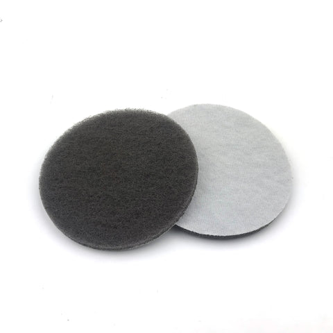 "5"" Fine(1500 Grit) Round Heavy Duty Hook and Loop Scouring Pads"