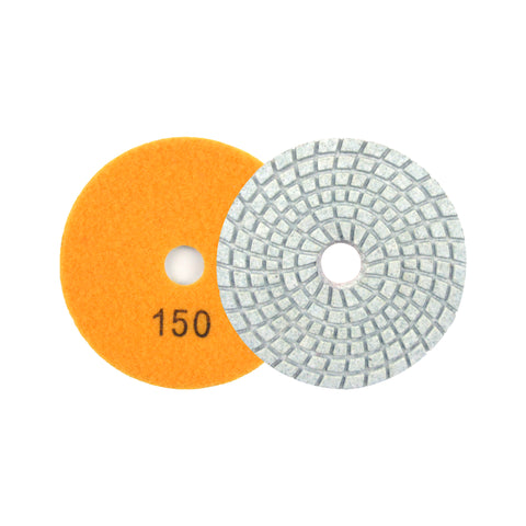 "3"" 150 Grit Diamond Wet/Dry Hook & Loop Polishing Discs"
