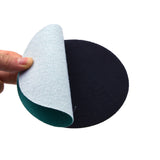 "5"" (125mm) 80 Grit Hook & Loop Wet/Dry Polyester Film Green Sanding Discs, 10 Discs"