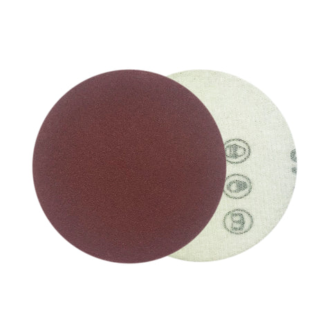 "3"" 180 Grit Red Grain Hook & Loop Sanding Discs, 10 Discs"