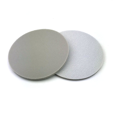 "5"" 1800 Grit Heavy-duty Sponge-Backed Hook & Loop Sanding Discs"