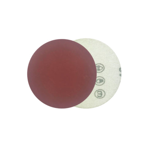 "2"" 2000 Grit Red Grain Hook & Loop Sanding Discs, 10 Discs"