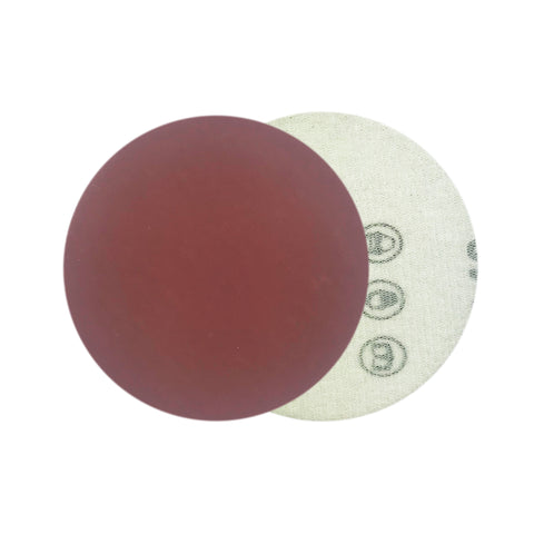 "3"" 2000 Grit Red Grain Hook & Loop Sanding Discs, 10 Discs"