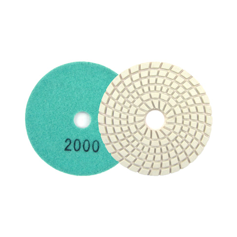 "3"" 2000 Grit Diamond Wet/Dry Hook & Loop Polishing Discs"