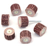 20x15mm x 3mm Shank Small Flap Wheels, 80-600 Grit